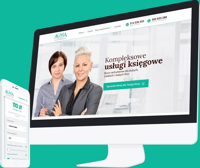 Strona Biura Rachunkowego i Landing Page