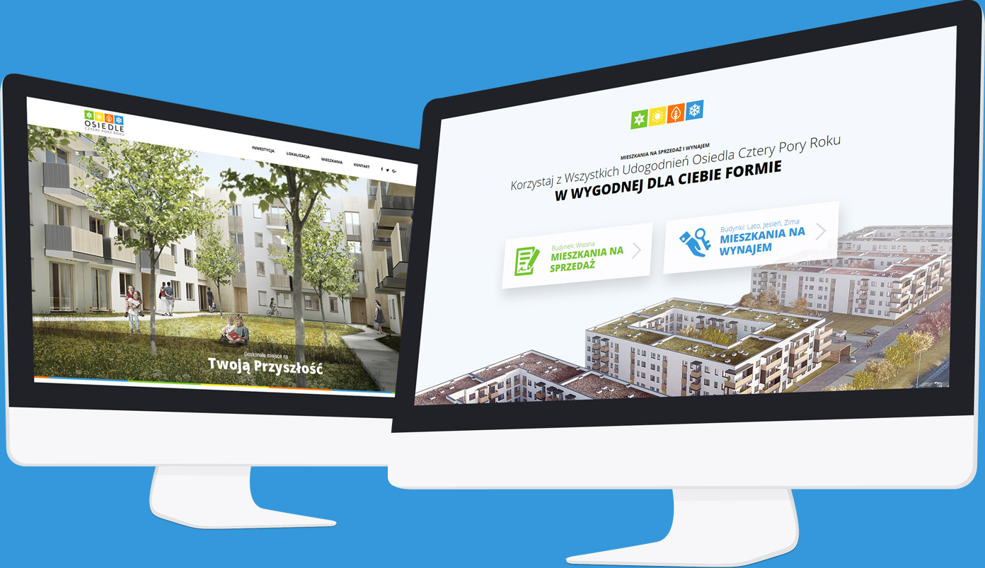Landing Page i strona www Osiedla